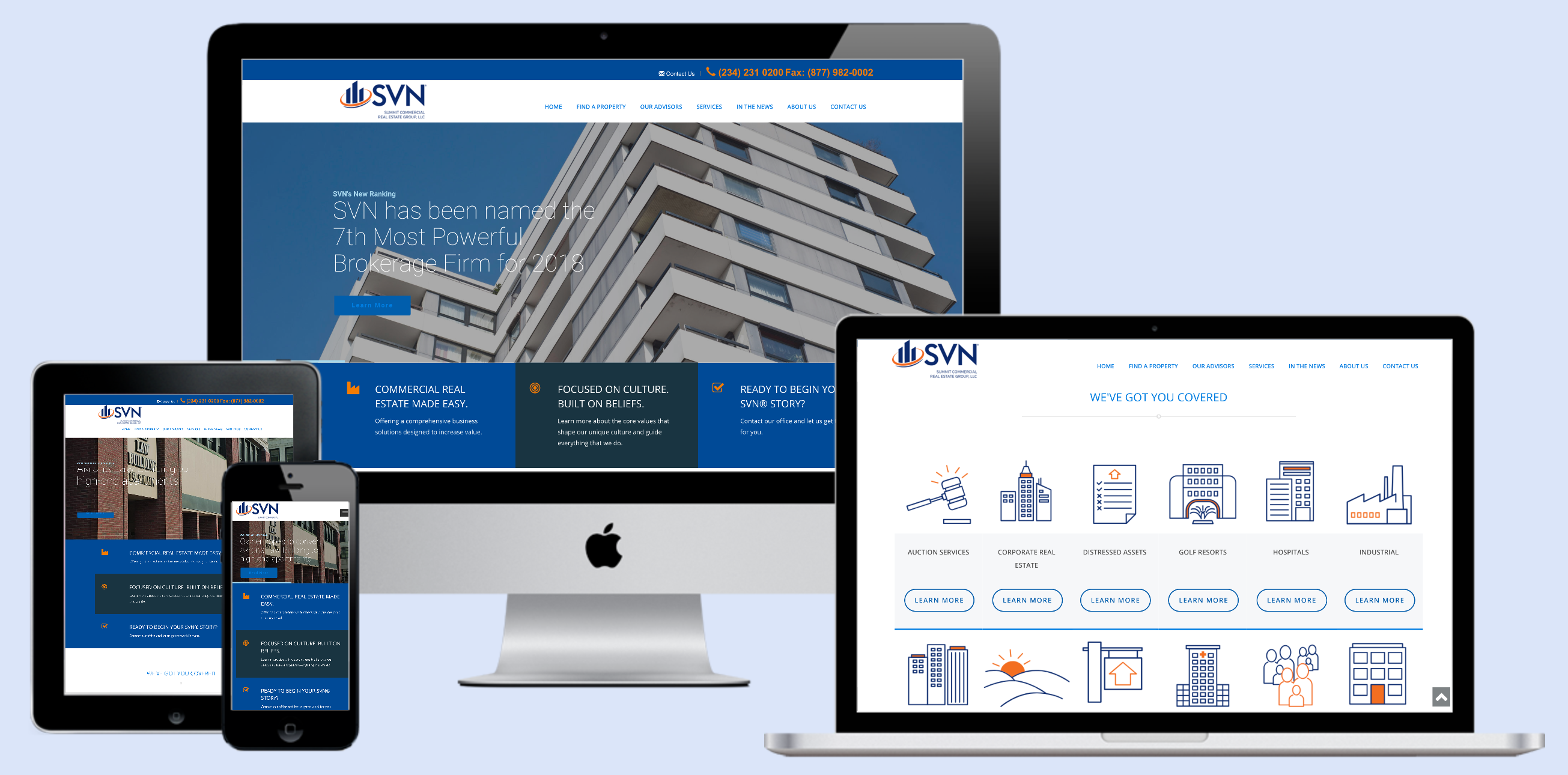 SVN Summit Commercial Real Estate Site