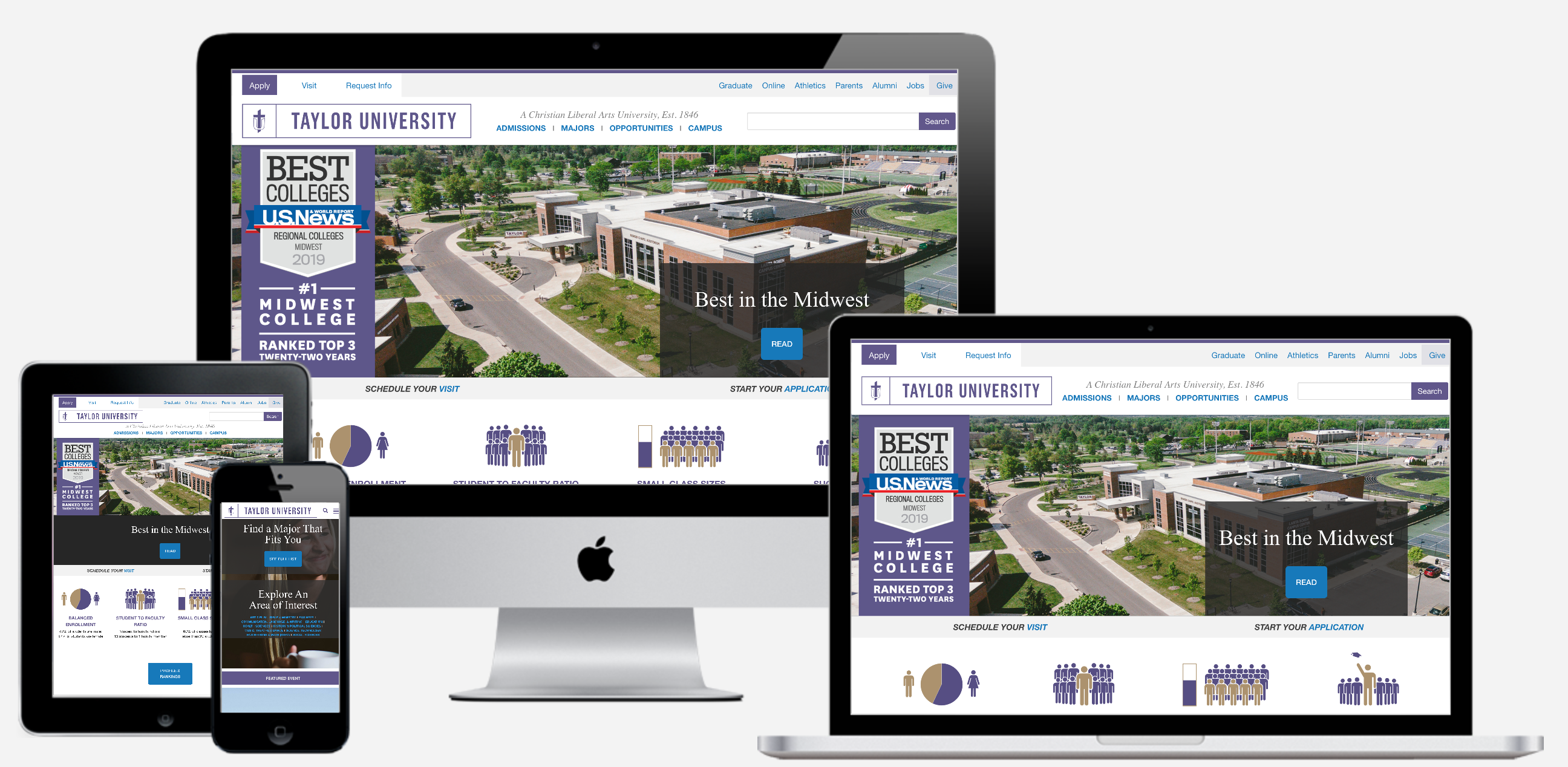 Taylor University Redesign and Conversion